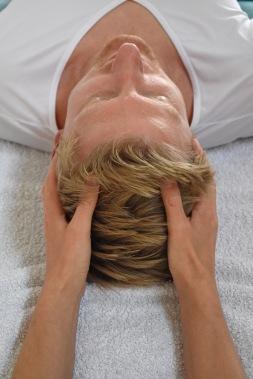Craniosakrale Behandlung